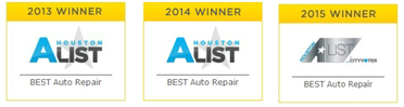 Voted Best Car Repair Shop in Houston, Sugar Land, Missouri City