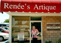 Front of Renees Artique Store Art and Gifts
