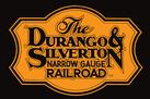Durango and Silverton Narrow Gauge Railroad logo.