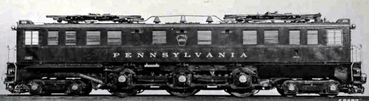 The original boxcab version of the P5a. No. 4761 was built in 1926 by the PRR Altoona Works and General Electric.