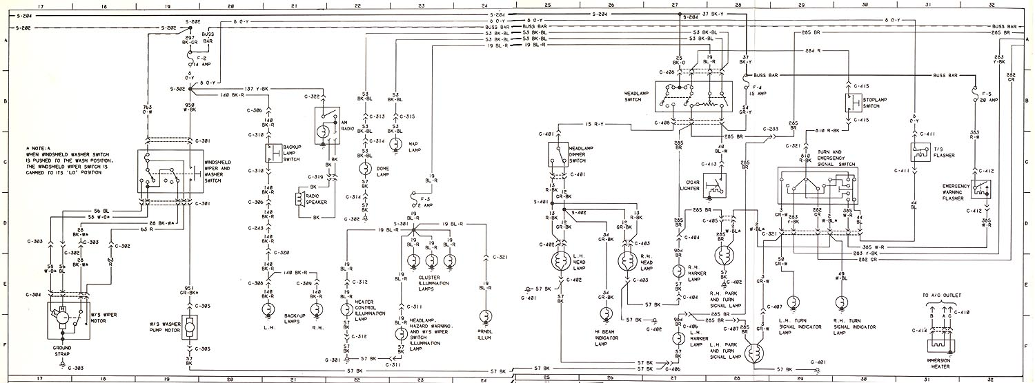 Tech Corner 1979 Ford Bronco Wiring Diagram I Found A Vacuum Chart Specifically For Broncos In California