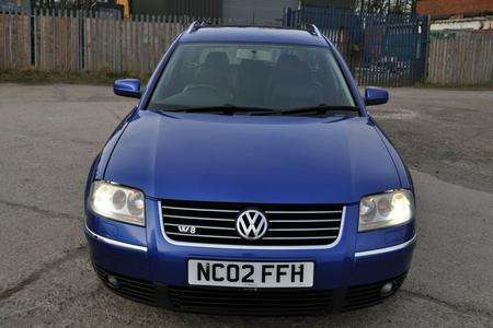 2002 VW VOLKSWAGEN PASSAT W8 4MOTION TIPTRONIC EX DEMONSTRATOR CAR FSH