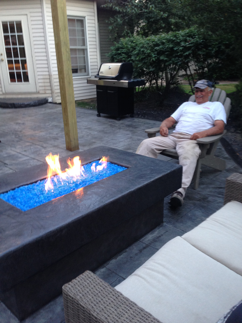 custom made fire pits