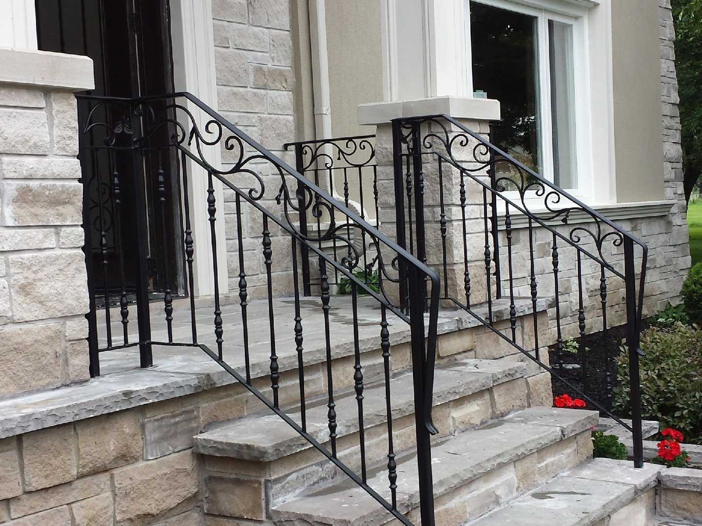 iron wrought railings door gate and front stunning porch images doors entry