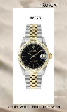 Rolex Datejust automatic-self-wind womens Watch 68273 (Certified Pre-owned)