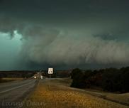 Oklahoma Storm Chasing Vacation Wall Cloud