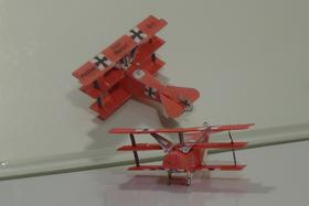 paper aircraft free download, 4D model of WWI aircraft