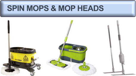 As Seen on TV Spinning Mops