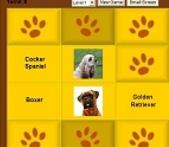 Memory Matching Dog Match Game