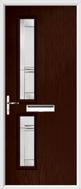 2 Square Composite Door Regal Corenet glass