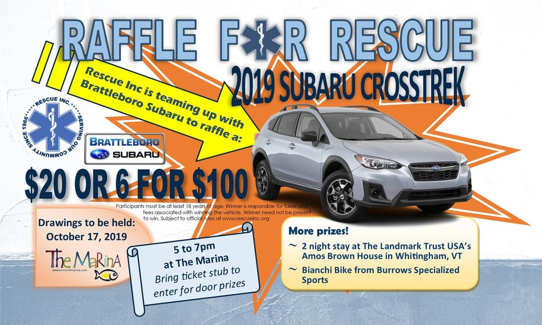 Raffle for Rescue