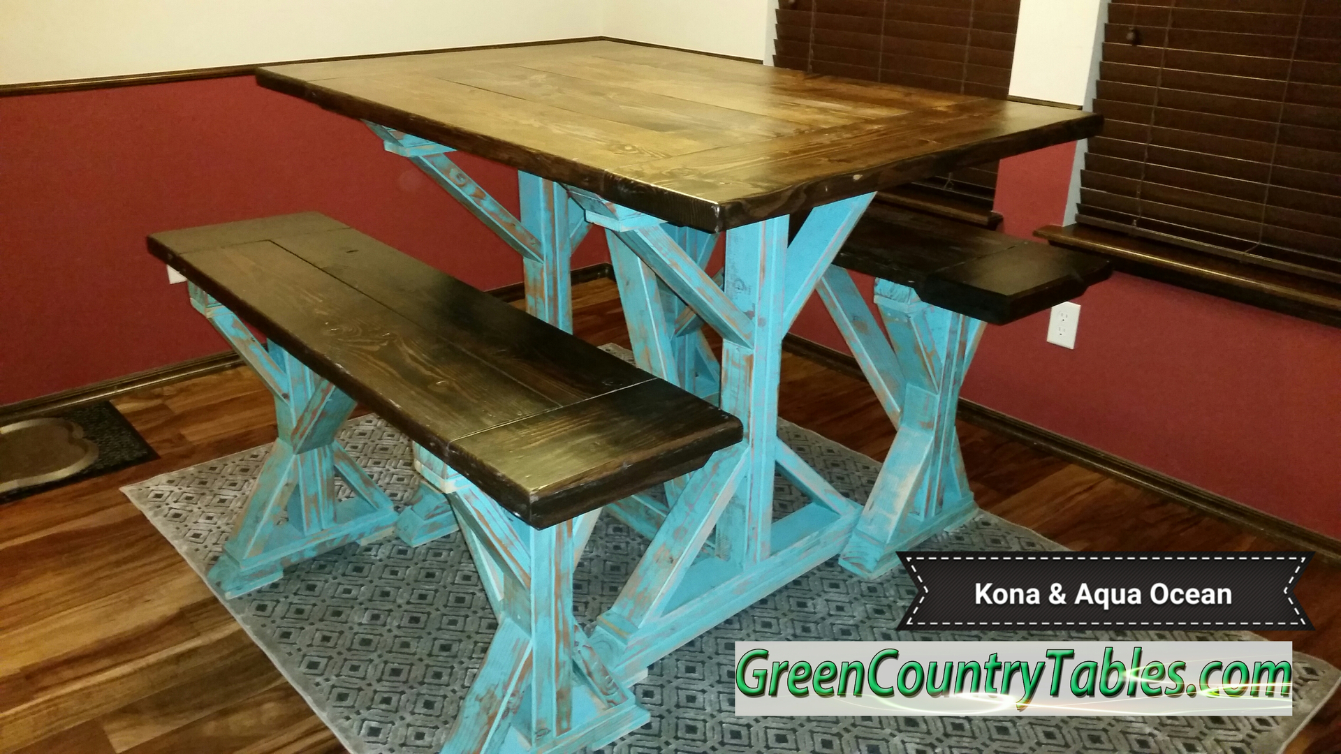 Green Country Tables - Farmhouse Table And Chairs, Farm Tables ...