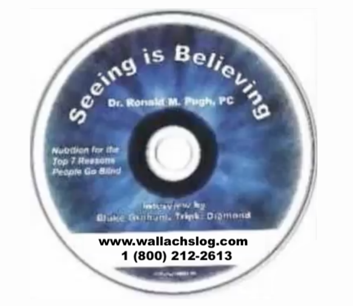 SEEING IS BELIEVING (Dr. Joel Wallach) Dr. Ronald M Pugh,PC