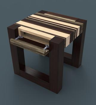 DIY secret hidden compartment end table. www.DIYeasycrafts.com