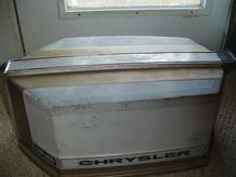 Used motor cowling for a 35 hp Chrysler outboard motor