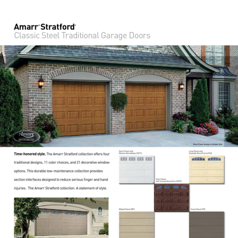 Amarr Garage Doors Overhead Doors Of Greenville