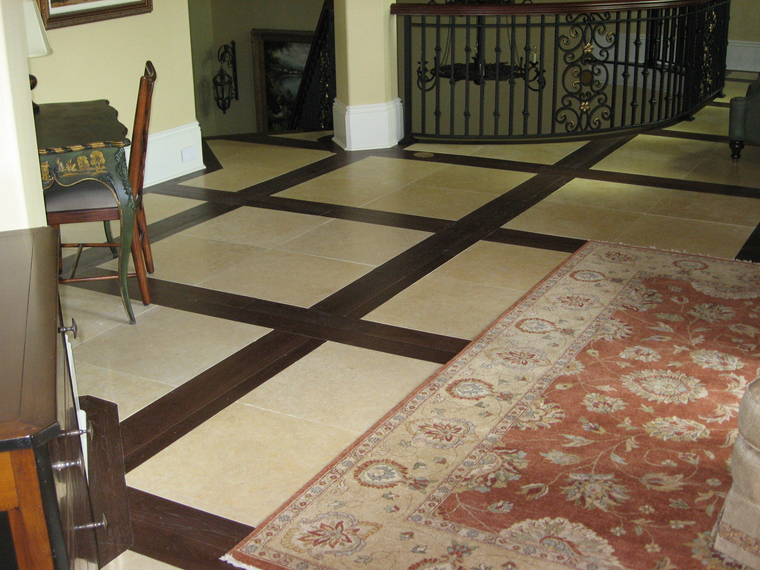 Tile And Wood Floor flooring bination wood and tile floor kitchen tile and wood floor regarding wood and tile floor Mix Match Flooring Tilehardwood