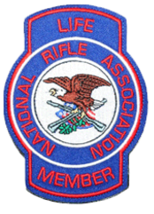 DJ Firearms Training's NRA Life Member Patch