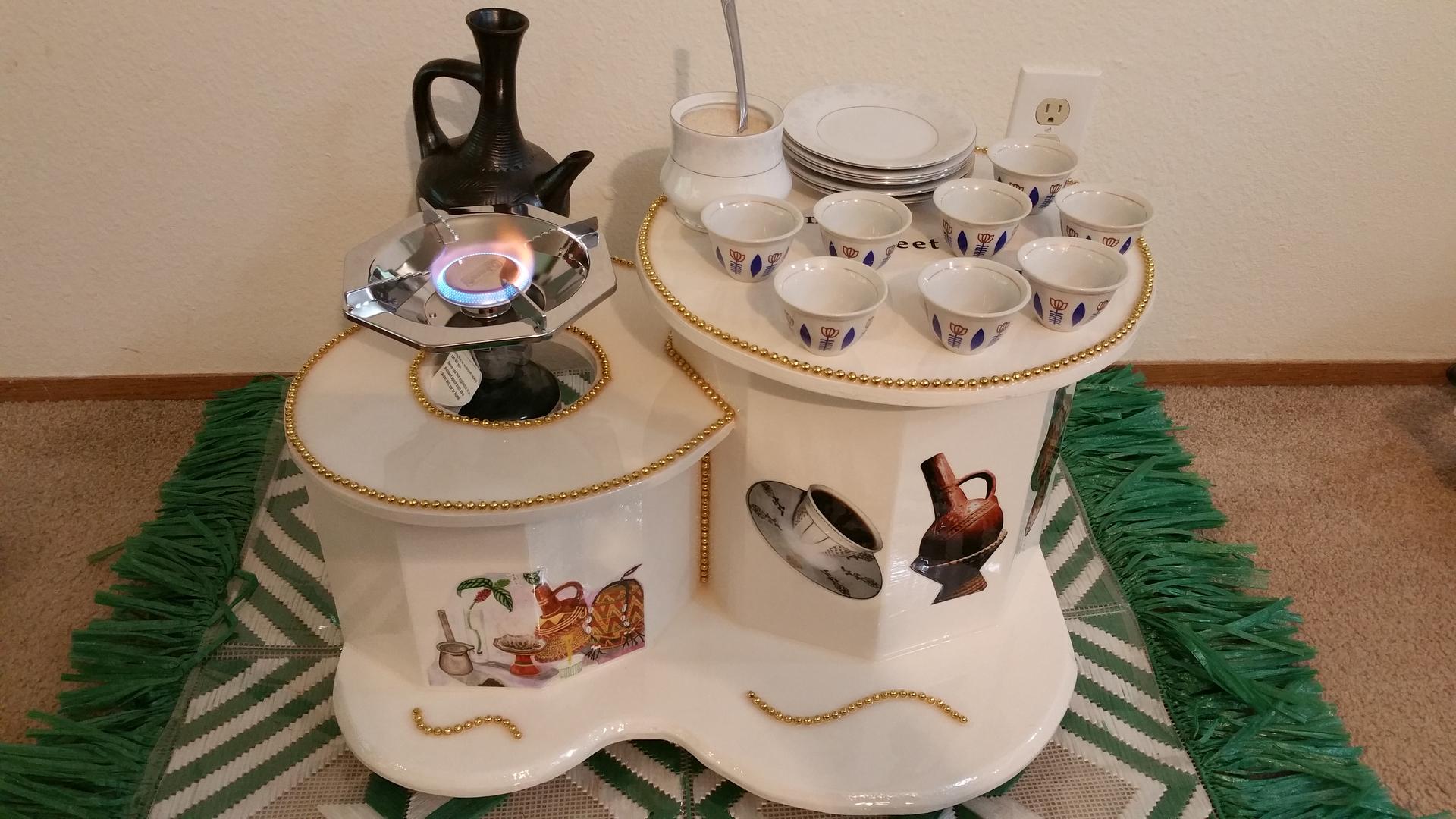 Fresh Ethiopian Coffee Table For Sale