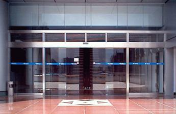 automatic patio door