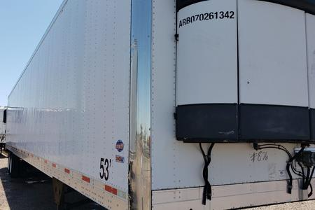 2008 LIFETIME COMPLIANT RYPO FILTER ON UTILITY REEFER TRAILER WITH RYPO CARRIER UNIT