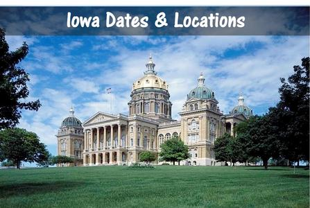Chiropractic seminars in Des Moines Iowa online ce chiropractor seminar near davenport continuing education CE conference webinar hours classes cedar rapids sioux city
