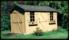 Maple Storage Shed