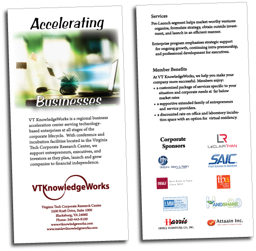 Rack cards vt knowledgeworks accelerating services rack card colourmoves
