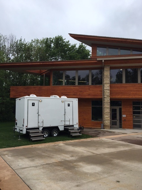 Dubuque Iowa Luxury Restroom Trailers Rental and Sales