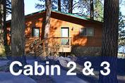 Cabins 2 & 3 at Harriman's