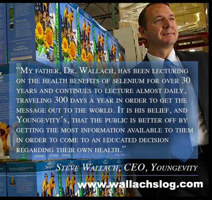 Steve Wallach CEO Youngevity