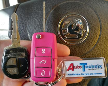 Vauxhall Agila remote key replacement