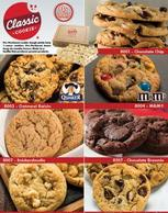 Classic Frozen Cookie Dough Fundraising Brochure