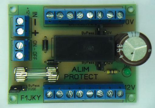 12V DC Power Distribution PCB Module