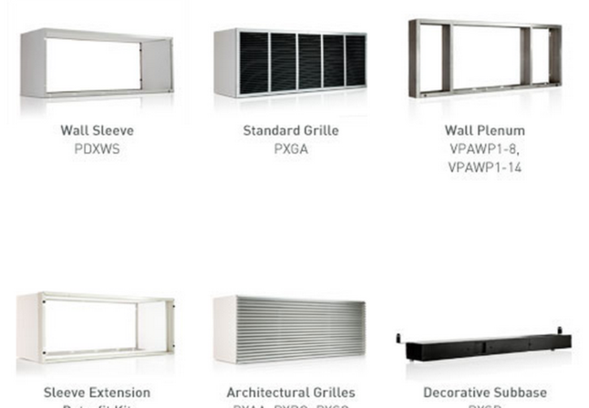 PTAC wall sleeve installation NYC, PTAC grille installation NYC, PTAC wall plenum installation NYC, PTAC sleeve extension NYC PTAC architectural grille NYC, Decorative Subbase, Neptune Air Conditioning, New York