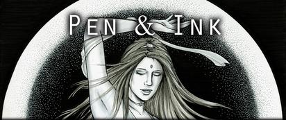 Online image gallery of Natalie McKean's pen and ink art work.