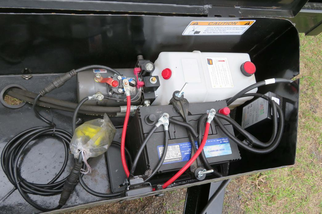Dump Trailer Double Acting Pump Wiring Diagram on