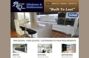 Affordable Quality Kitchens and Bathrooms Web Design | Digital Marketing Professionals Toowoomba