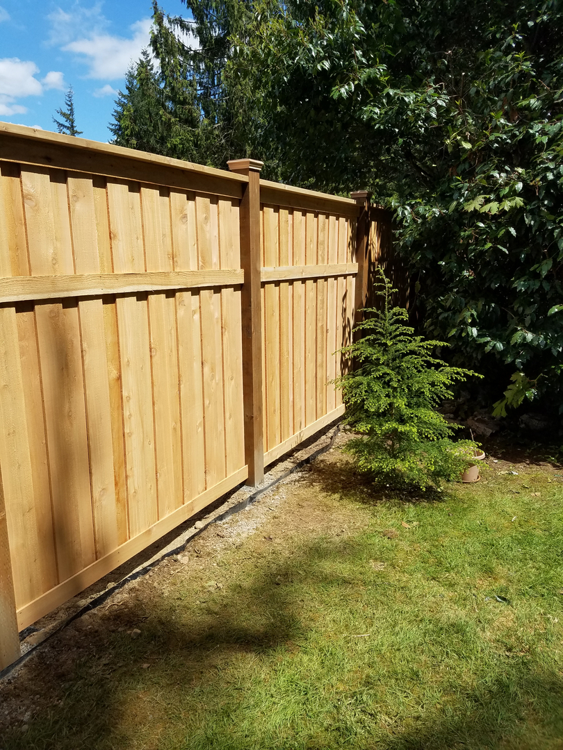 Lattice Top Fence | Cedar Trellises Grids & Arbors | Renton Enumclaw WA