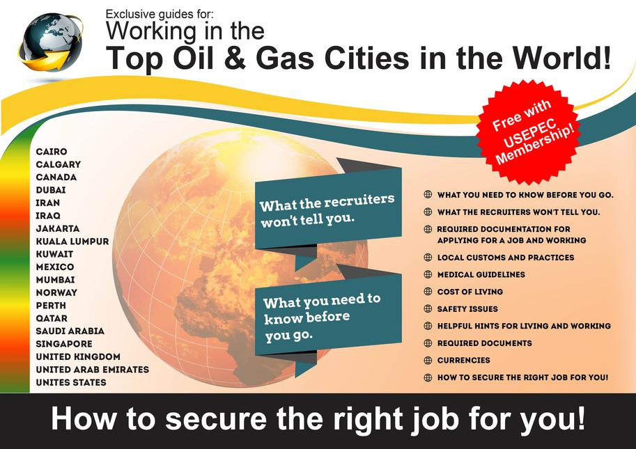 Job guides to working in the Top Oil & Gas Cities in the World