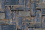 Unilock Concrete Town Hall PermeablePaver in Heritage Clay Color