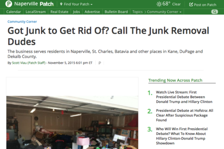 The Junk Removal Dudes - Naperville, IL Junk Removal