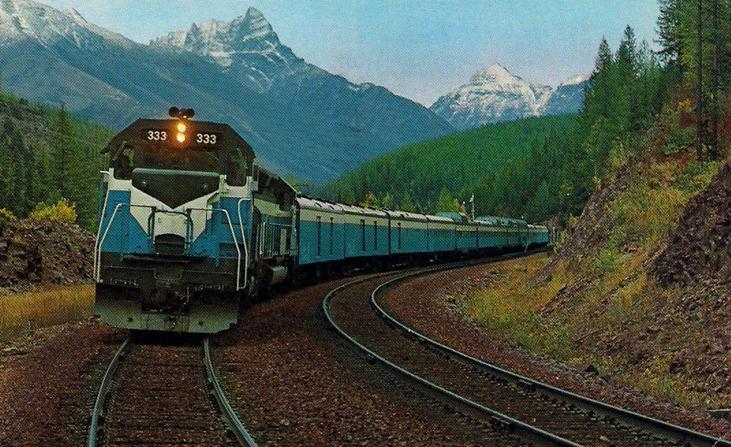 The Empire Builder/Western Star, circa 1970.