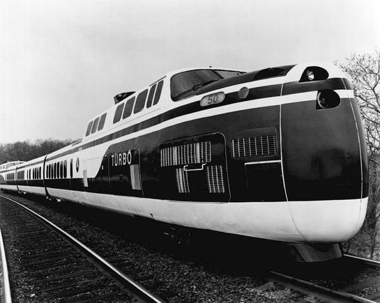 United Aircraft TurboTrain, ca. 1971.