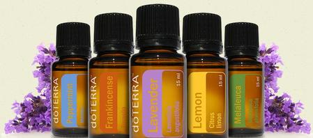 ESSENTIAL OILS, doTERRA