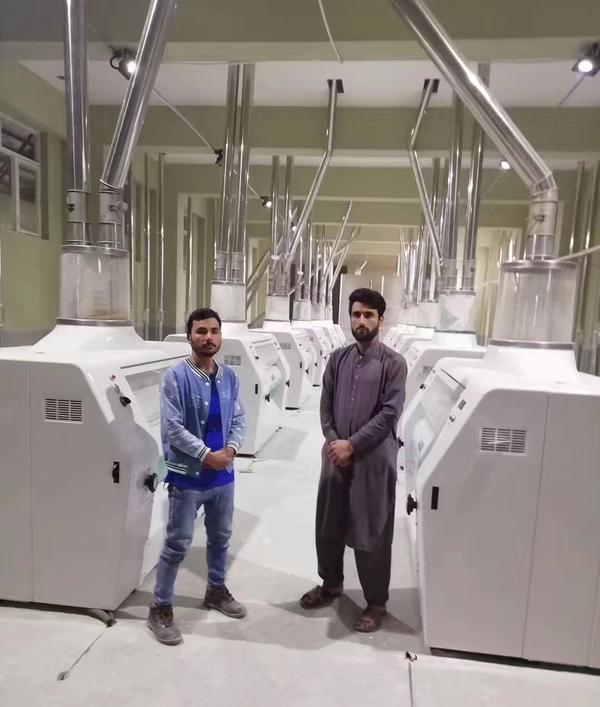Wheat flour milling machine in Afghanistan