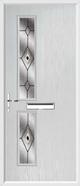 2 Square Composite Door fusion 1 glass
