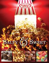 Salty and Sweet Popcorn fundraiser brochure