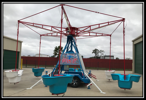 wind up amusement park rides for rent set up