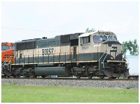 BN Executive scheme lettered for BNSF.